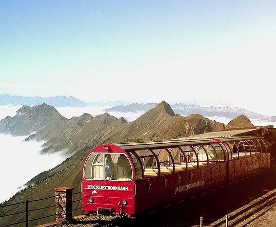 Brienzer Rothorn 2351m is a mountain in the Swiss Alps on the border between the cantons of Lucerne, Berne and Obwalden. The summit can be reached from Brienz by the Brienz...