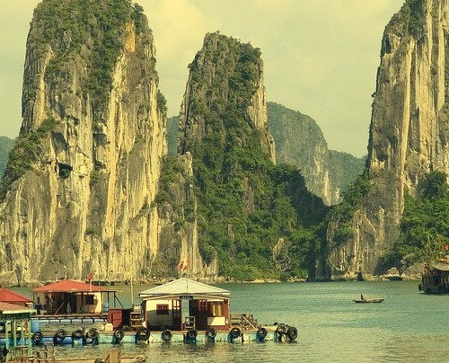 by Steffyc on Flickr.Another view from the magnificent Halong Bay, Vietnam.