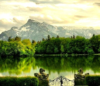 Alpine View, Salzburg, Austria