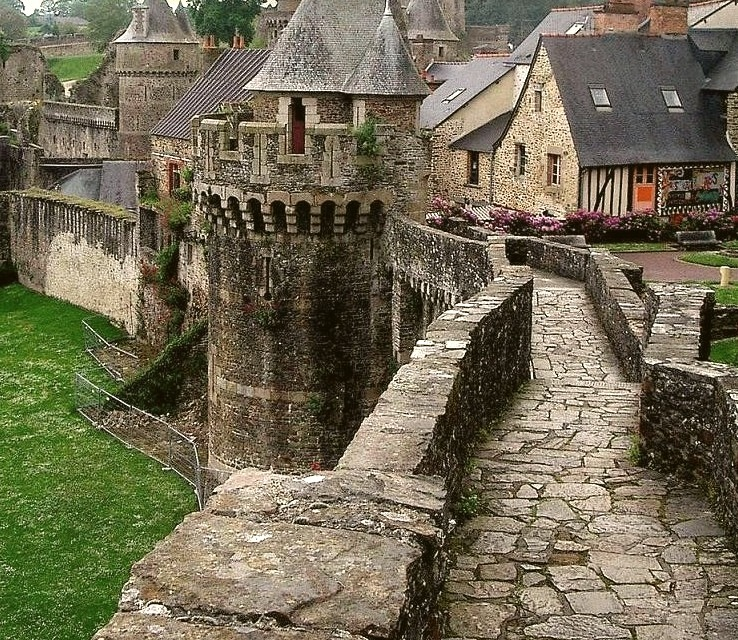Castle Ramparts, Fougeres, France