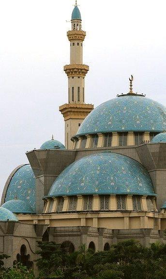 Masjid Wilayah Persekutuan in Kuala Lumpur, Malaysia