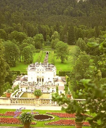Schloss und Park Linderhof, Bavaria, Germany
